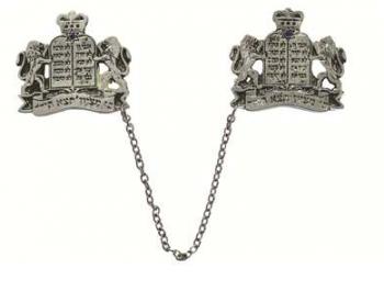 Lion Talit Clip - Silver