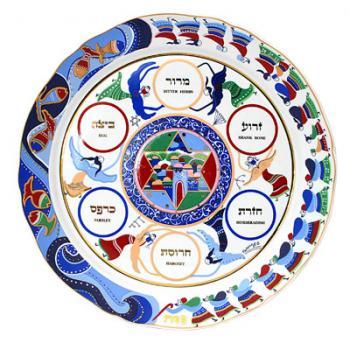 Abecasis Seder Plate