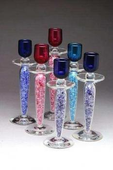 Shardz Candleholders - Wedding Glass Candleholders