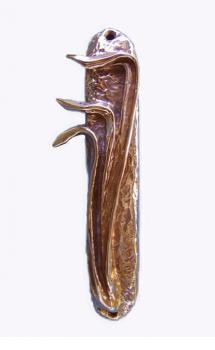 Mezuzah Bronze Shin