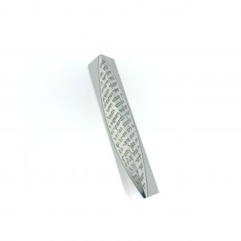 3D Mezuzah-Silver