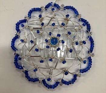 Blue Silver Star Wire Kepa