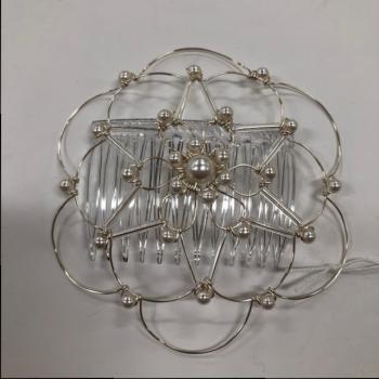 Silver Pearl Wire Kepa