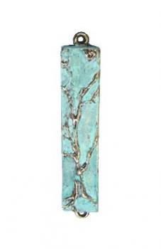 Mezuzah Tree of Life Patina Small