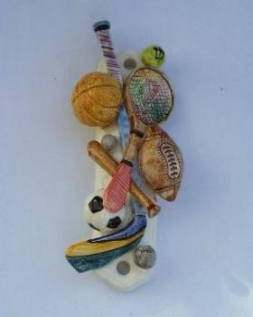 Sports Mezuzah by Morderchai Hazan.
