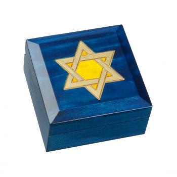 Large Star of David Keepsake Box