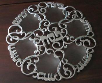 Swirl Seder Plate