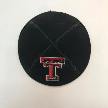 Texas Tech University Kippah-Suede