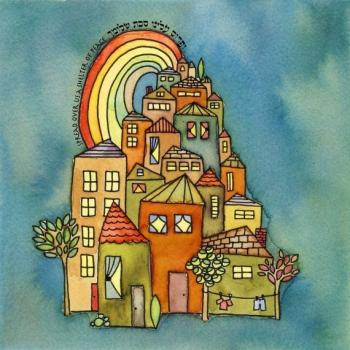 Tiny Village - Print