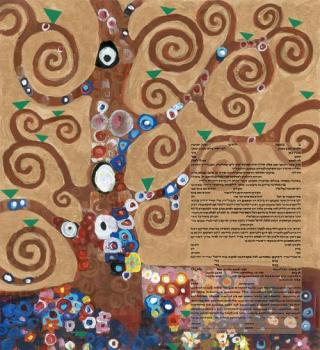 Homage to Klimt: Tree of Life