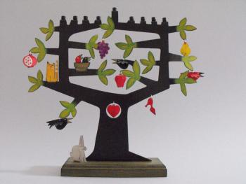 Tree of Life Chanukah Menorah