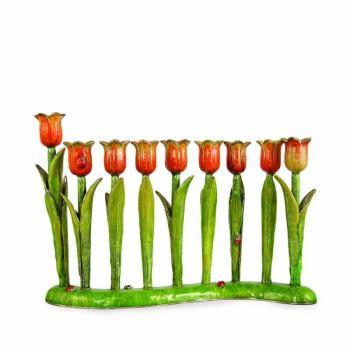 Tulip Menorah