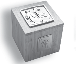 Noah's Ark Tzedakah Box - Pewter