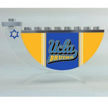 UCLA Sports Hanukkah Menorah