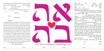 Unending Love Ketubah