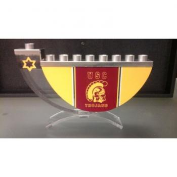 USC Sports Hanukkah Menorah