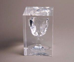 Wedding Cube - Lucite