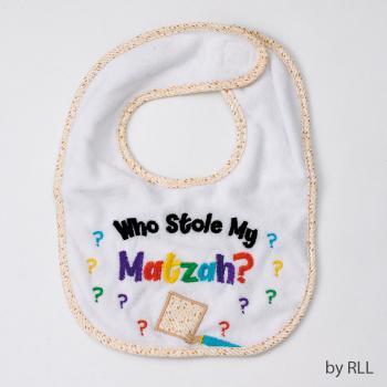Who Stole My Matzah Bib - Passover Gifts