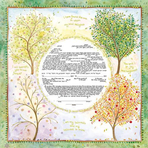 Seasons of Joy Ketubah