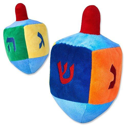 Plush Dreidel with Rattle
