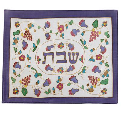Silk Flowers Challah Cover