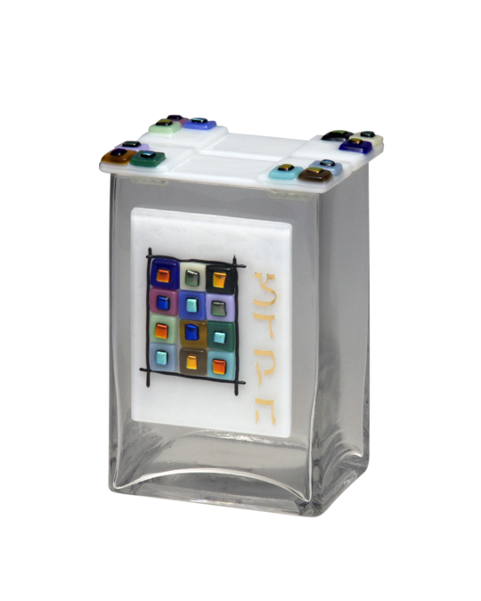 Tribes Tzedakah Box White