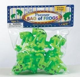 Bag of Frogs - Passover Toys