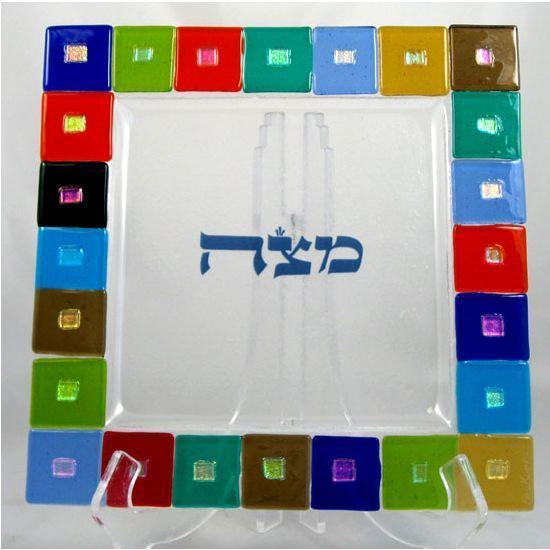 Twelve Tribes Matzah Tray