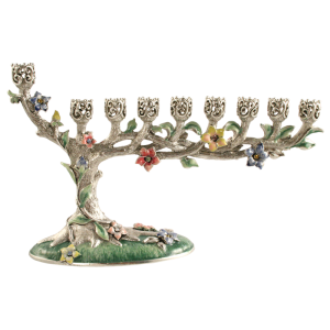 Bonsai Hanukkah Menorah