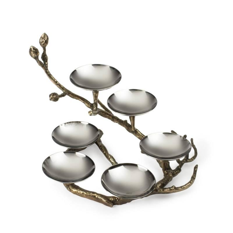 Branch to Freedom Seder Plate-Bronze