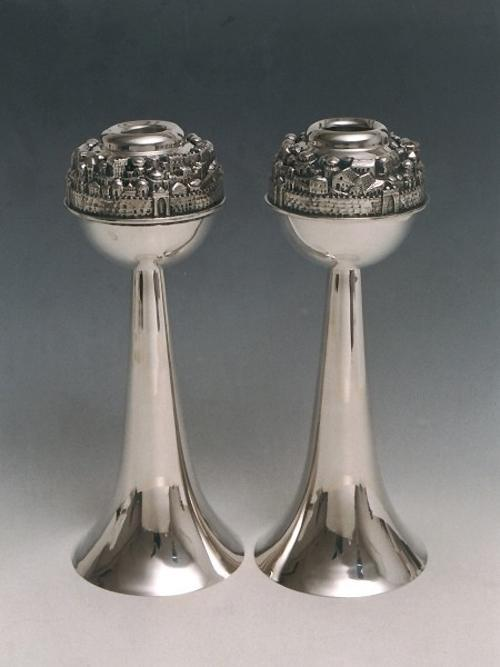 Candlesticks Sterling Silver 001