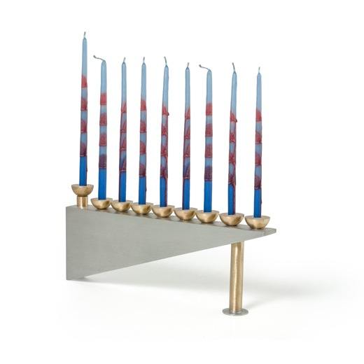 Geometric Menorah
