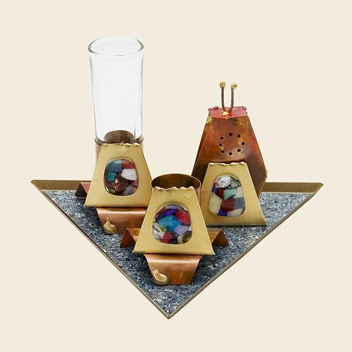 Havdalah Set Triangle