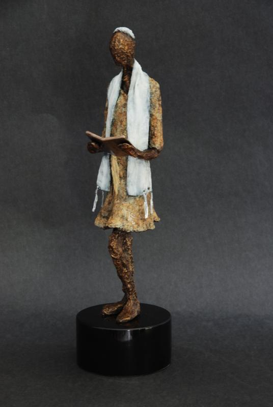 Bat Mitzvah Bronze Sculpture