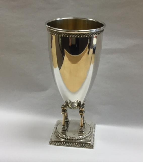 Netafim Kiddush Cup - Sterling Silver