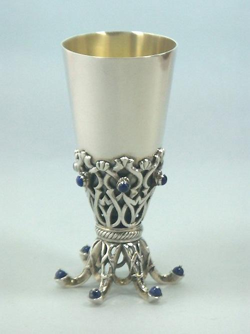 Kiddush Cup Sterling Silver 025