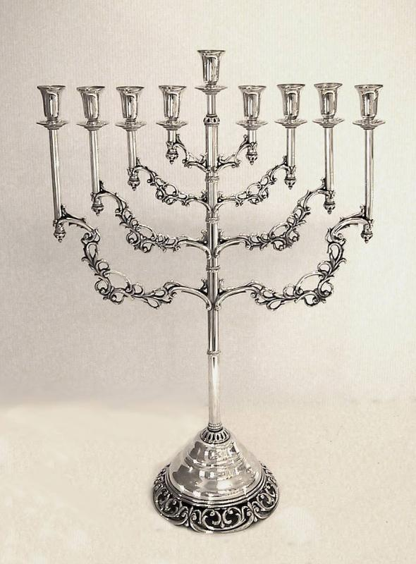 Menorah Sterling Silver
