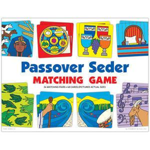 Passover Seder Matching Game - Passover Games