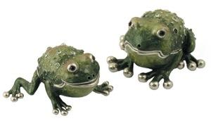 Frog Salt and Pepper Shakers - Passover Gifts
