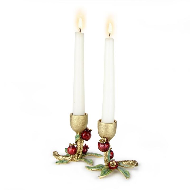 Quest Pomegranate Candle Holders