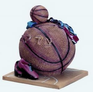 Basketball Tzedakah Box - Resin