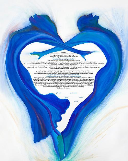 The Rhythm of the Heart Ketubah