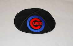 Chicago Cubs Kippah - Suede