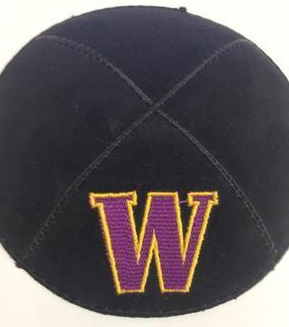 University of Washington Kippah - Suede