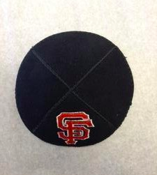 San Francisco Giants Kippah - Suede
