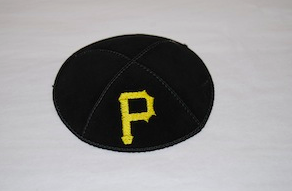 Pittsburgh Pirates Kippah - Suede