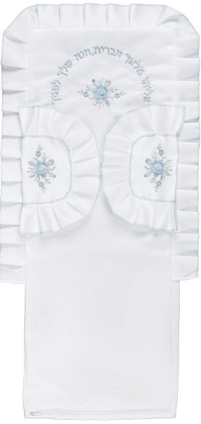 Blue Bris Pillow Case